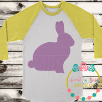 Bunny Silhouette SVG DXF PNG