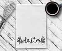 Butter Tea Towel Design Cut File