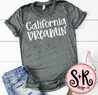 California Dreamin' SVG DXF PNG (2019)