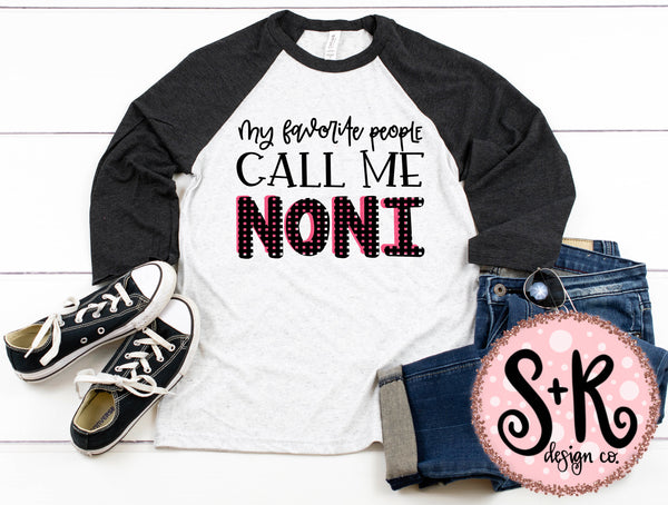 Call Me Noni SVG DXF PNG (2019)