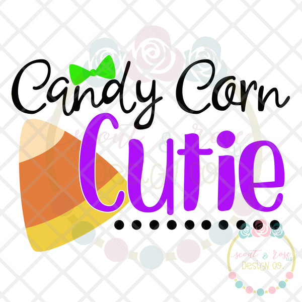 Candy Corn Cutie SVG DXF PNG