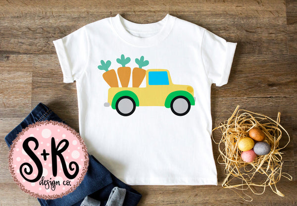 Carrot Truck SVG DXF PNG