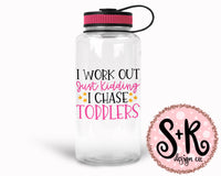 I Chase Toddlers SVG DXF PNG (2019)