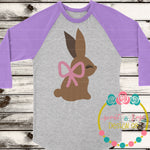 Easter Chocolate Bunny SVG DXF PNG