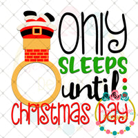 Christmas Countdown 1 SVG DXF PNG