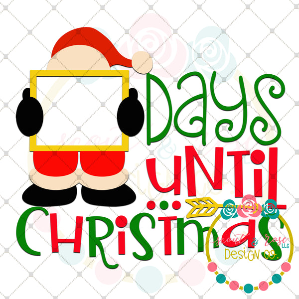 Christmas Countdown 2 SVG DXF PNG