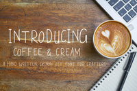 Coffee & Cream Font