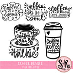 Coffee Bundle #1 SVG DXF PNG (2019)