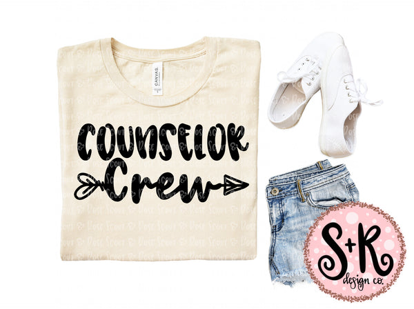 Counselor Crew SVG DXF PNG (2019)