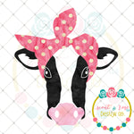 FREE SUBLIMATION Bandana Cow PNG