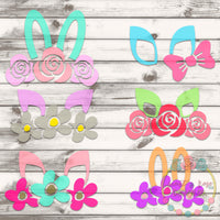 Design Your Own Bunny Set SVG DXF PNG