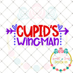 Cupids Wingman SVG DXF PNG