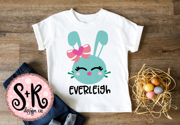 Cute Easter Bunny SVG DXF PNG (2019)