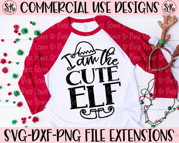 Cute Elf SVG DXF PNG (2019)