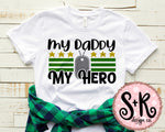 My Daddy My Hero SVG DXF PNG (2019)