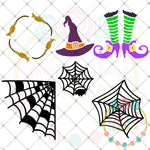 Design Your Own Halloween Set 1 SVG DXF PNG