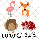 Design Your Own Animal Set 1 SVG DXF PNG