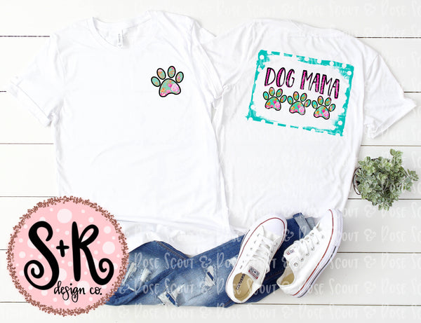 Dog Mama and Paw Sublimation Design Set (2019)