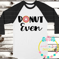 Donut Even SVG DXF PNG