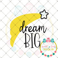 Dream Big SVG DXF PNG