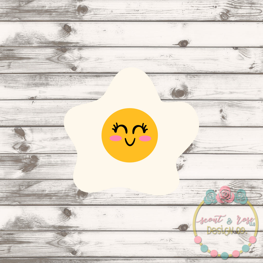 Egg Girl SVG DXF PNG