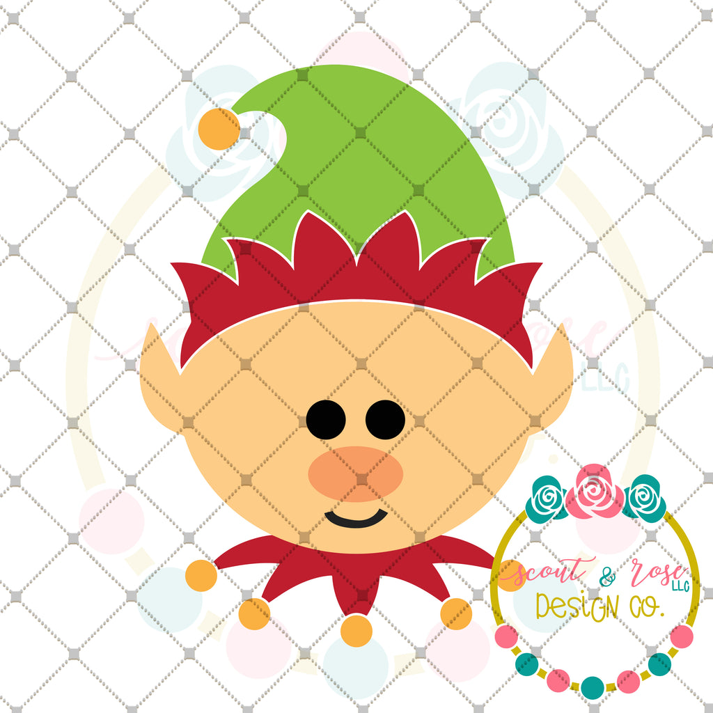 Christmas Elf SVG DXF PNG