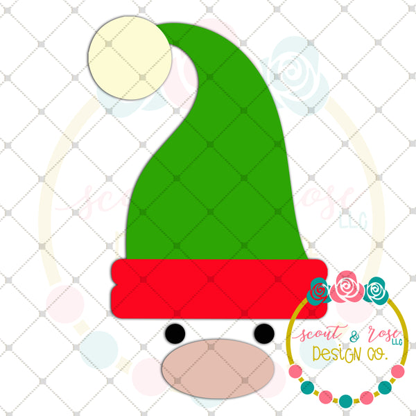 Elf Face SVG DXF PNG