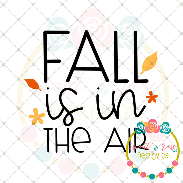 Fall is in the Air SVG DXF PNG