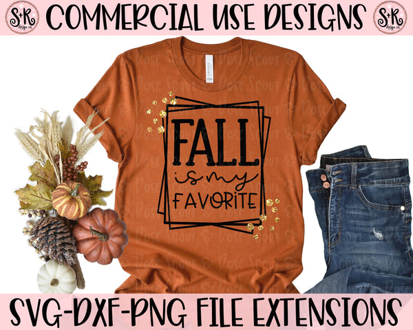 Fall Is My Favorite SVG DXF PNG (2019)