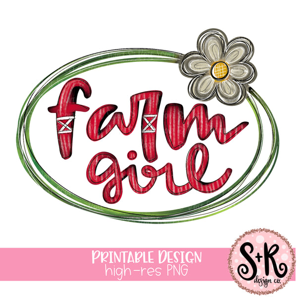 Farm Girl Printable Design (2019)