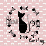 Claw & Fang Fishbone Cat Cut File