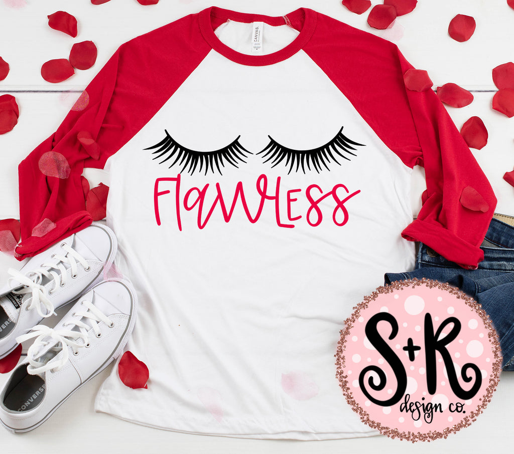 Flawless Lashes SVG DXF PNG (2019)