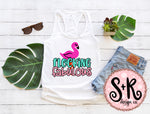 Flocking Fabulous Flamingo SVG DXF PNG (2019)