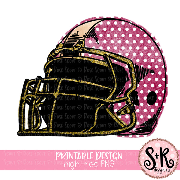 Football Helmet Only Sublimation Design (2019)