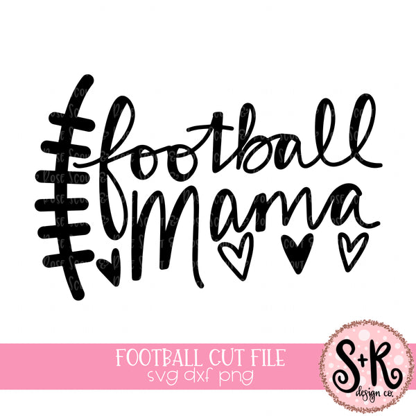 Football Mama SVG DXF PNG (2019)