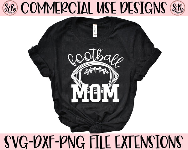 Football Mom SVG DXF PNG (2019)