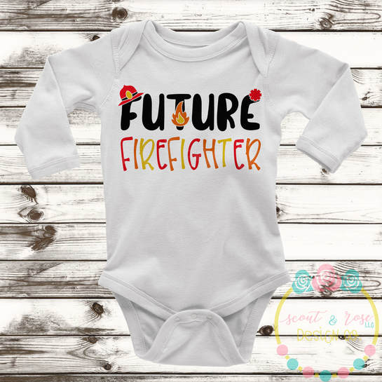 Future Firefighter SVG DXF PNG