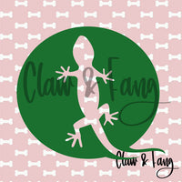 Claw & Fang Gecko Cut File