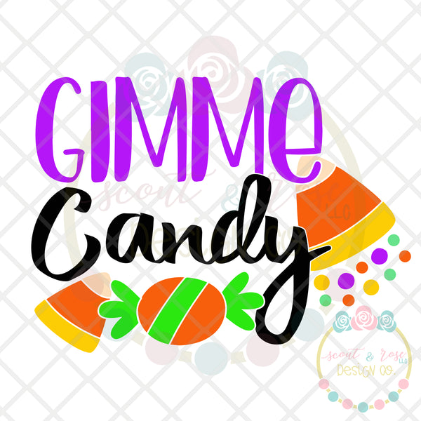 Gimme Candy SVG DXF PNG