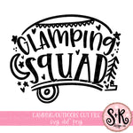 Glamping Squad SVG DXF PNG (2019)