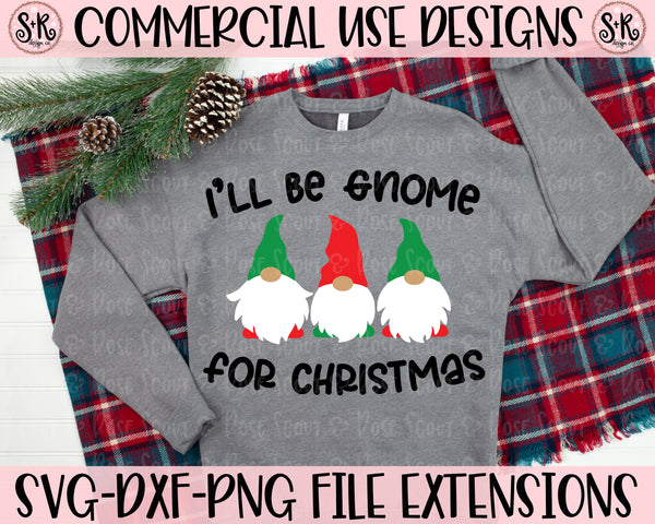 Gnome For Christmas SVG DXF PNG (2020)