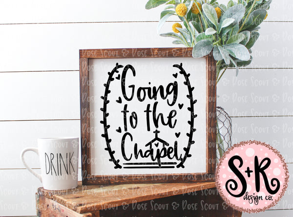 Going to the Chapel SVG DXF PNG (2019)