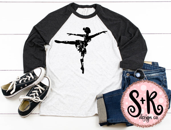 Grunge Dancer SVG DXF PNG (2019)