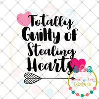Guilty of Stealing Hearts SVG DXF PNG
