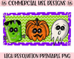 Halloween Trio Printable Design (2019)