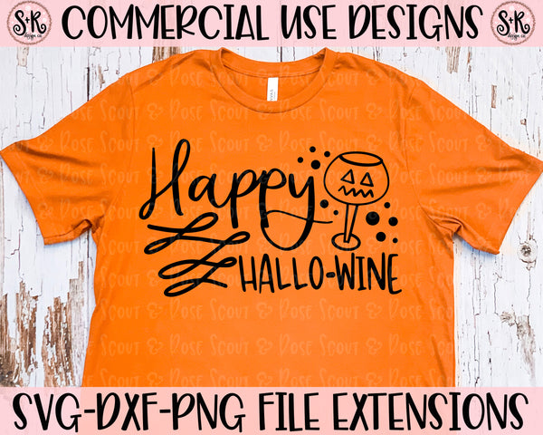 Happy Hallo-wine SVG DXF PNG (2019)