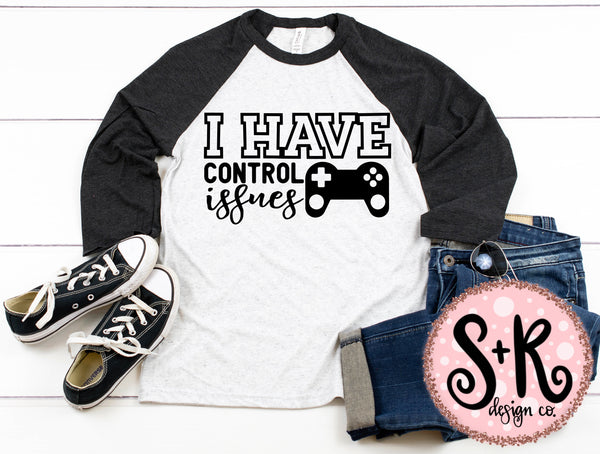 I Have Control Issues Game SVG DXF PNG (2019)
