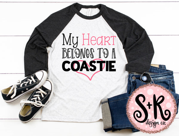 Heart Belongs to a Coastie SVG DXF PNG (2019)