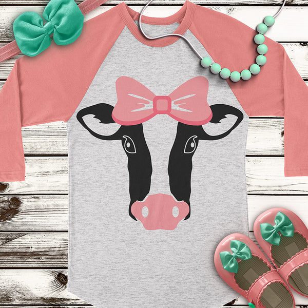 Heifer Cut File SVG DXF PNG