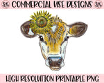 Cow Printable Design (2020)